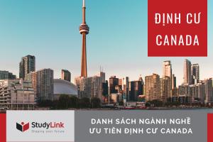 ĐỊNH CƯ CANADA: DANH SÁCH NGÀNH NGHỀ ĐỊNH CƯ