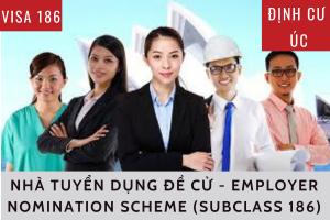 ĐỊNH CƯ ÚC: VISA 186 - NHÀ TUYỂN DỤNG ĐỀ CỬ - Employer Nomination Scheme (subclass 186)