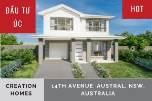 ĐẦU TƯ ÚC: CREATION HOMES NSW, 14th Avenue, Austral, New South Wales