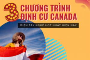 3 CHƯƠNG TRÌNH ĐỊNH CƯ CANADA DIỆN TAY NGHỀ HOT NHẤT HIỆN NAY