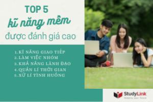 TOP 5 KỸ NĂNG MỀM ĐƯỢC HỘI ĐỒNG TUYỂN SINH ĐÁNH GIÁ CAO TRONG HỒ SƠ DU HỌC