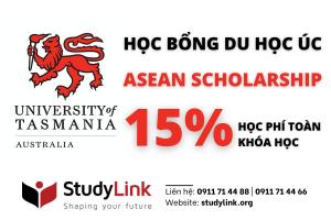 HỌC BỔNG DU HỌC ÚC - TRƯỜNG UNIVERSITY OF TASMANIA - ASEAN SCHOLARSHIP