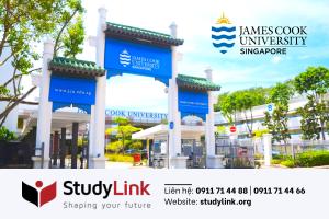 DU HỌC TẠI SINGAPORE - TRƯỜNG JAMES COOK UNIVERSITY SINGAPORE